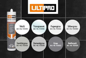 Sanitär-Silikone von ULTIPRO