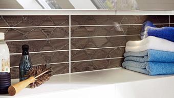 Stilvolle Fliesendesigns für das Badezimmer