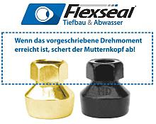 Flexseal - Manschettendichtungen mit Drehmomentkontrolle