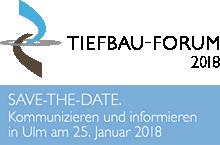 Tiefbau-Forum 2018 in Ulm