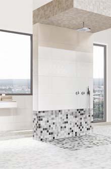 Ästhetische Fliesen Lösungen Für Den Duschbereich: Die KERMOS Serien Urban  Mix Und Concept 35 X 100.