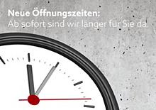 Neue Öffnungszeiten bei Raab Karcher Cottbus