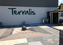 Terralis Ausstellung bei Raab Karcher in Darmstadt
