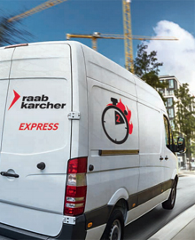 Express-Service bei Raab Karcher München