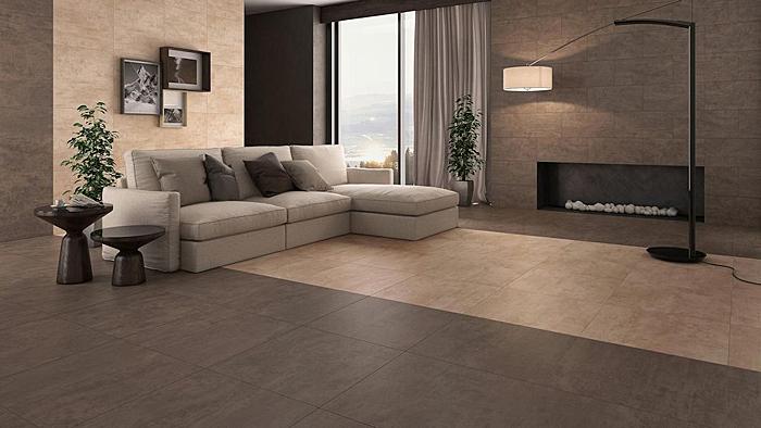 wohnzimmerfliesen fliesen f r das wohnzimmer raab karcher. Black Bedroom Furniture Sets. Home Design Ideas
