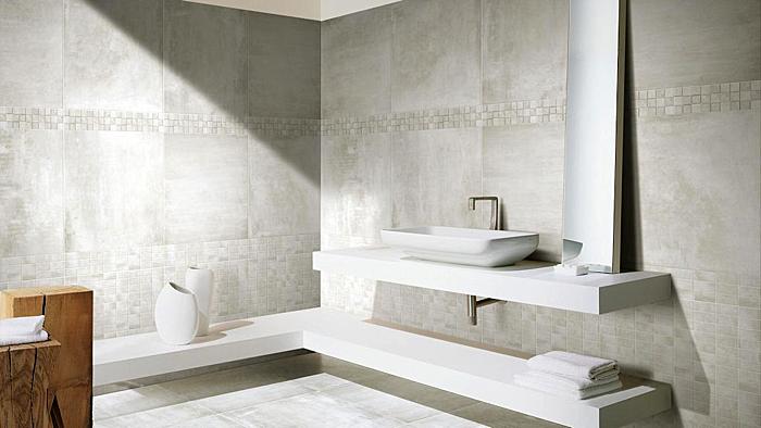 Badezimmer dekoriert mit der KERMOS