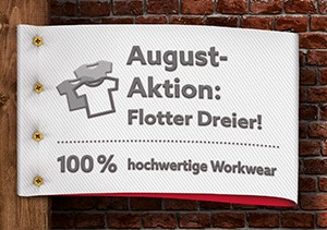 Workwear Aktion Agust